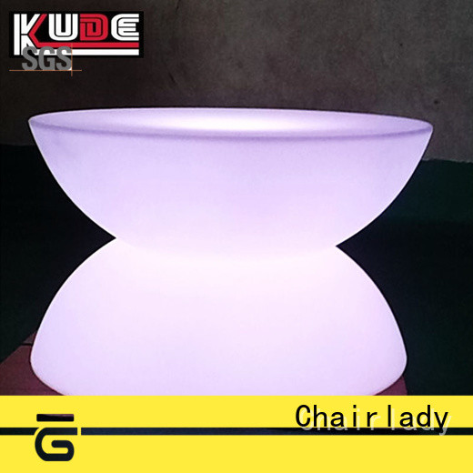 Chairlady nail led pub corner table for business for park