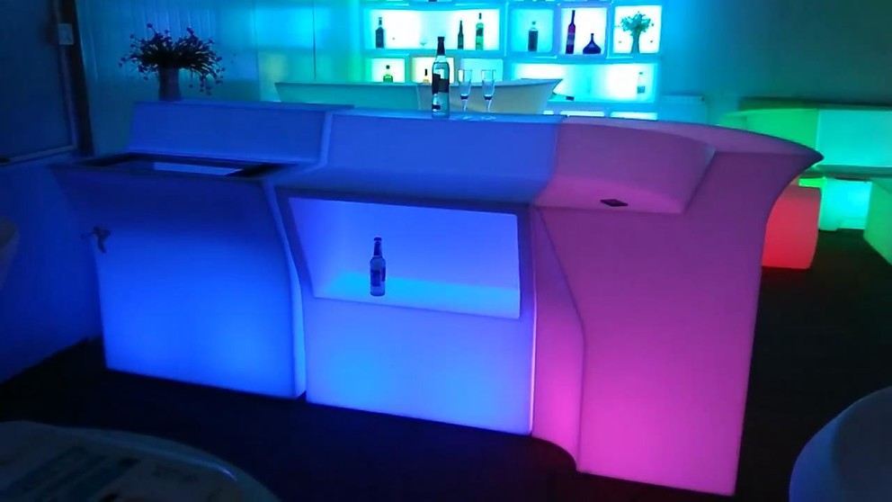Led Bar Counter Yf-bs307 Partable And Easy Combine