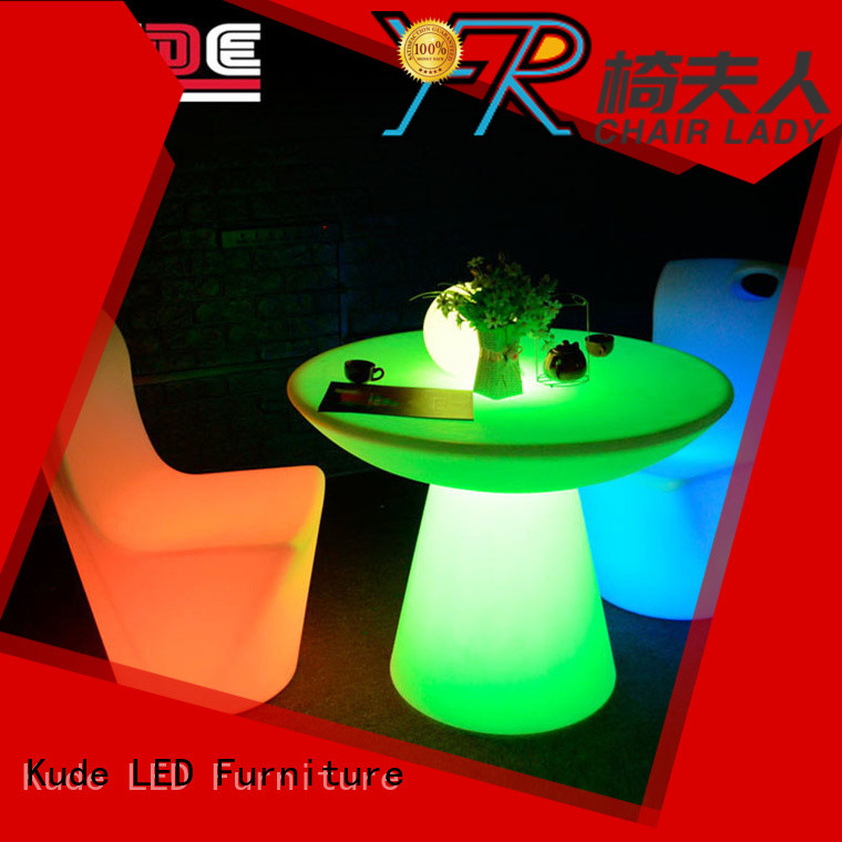 Custom led cube table yfrf867c Supply for night club
