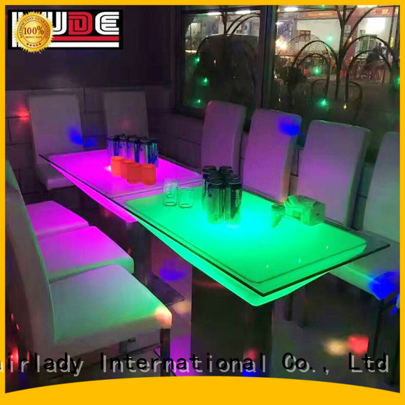 Chairlady changing led light furniture for business for home