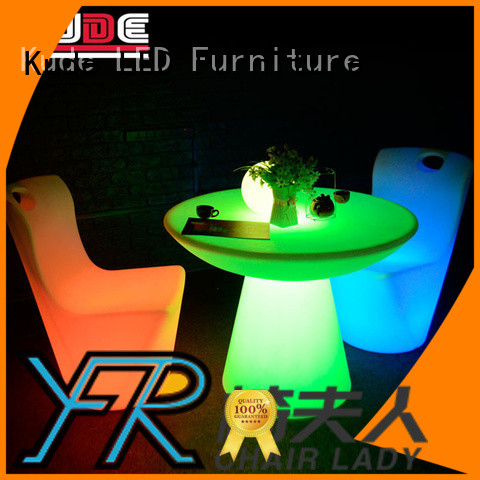 Chairlady Wholesale led furniture for business for bar