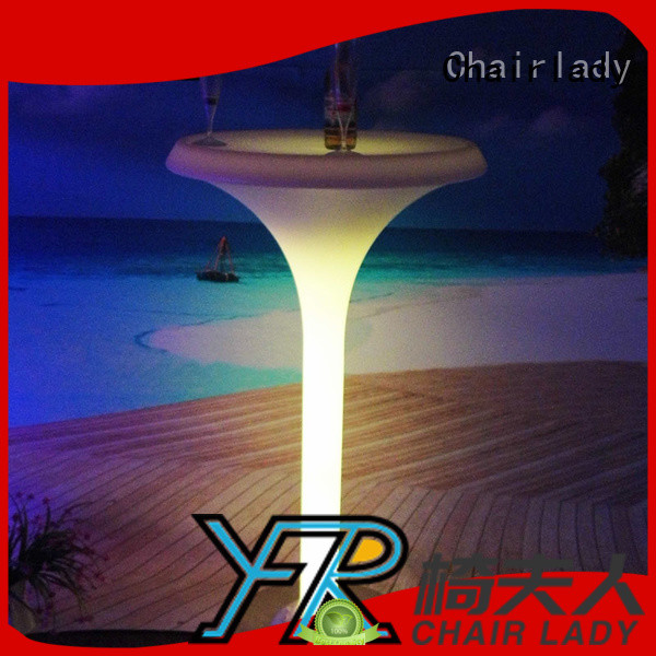 Chairlady table led bar furniture company for park