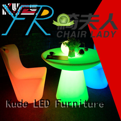 Chairlady bar led light furniture factory for park