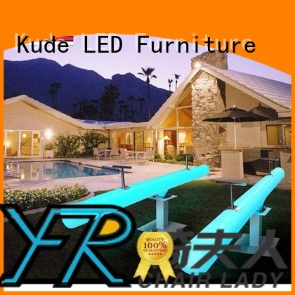 Chairlady Custom led garden furniture for business