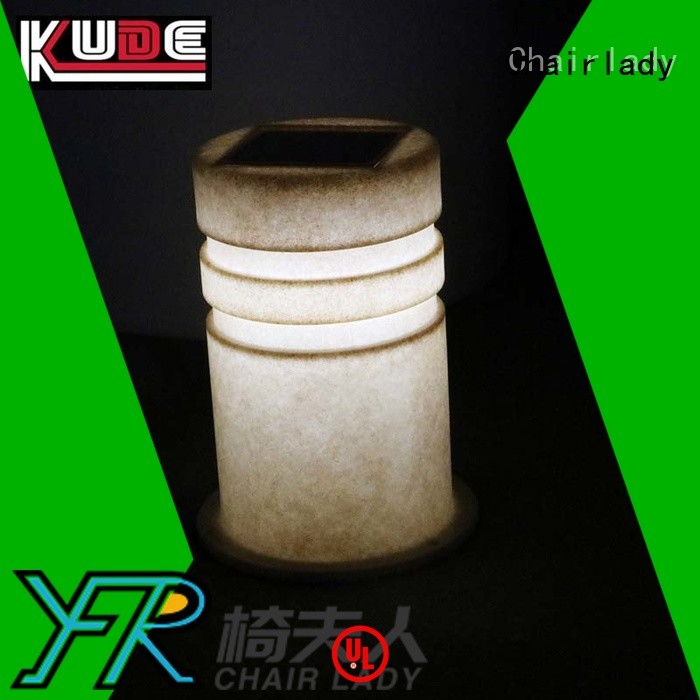 Chairlady road plastic led decorative furniture factory for bar
