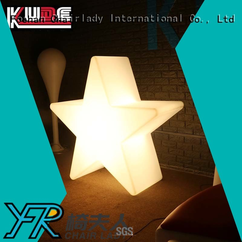 Chairlady Latest plastic led star lamp Suppliers for park