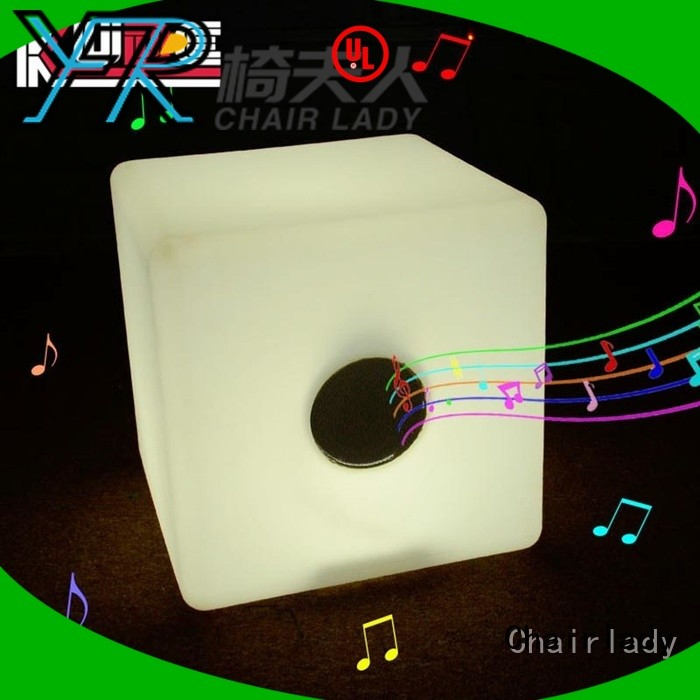 Chairlady Top LED Cube Bluetooth Suppliers