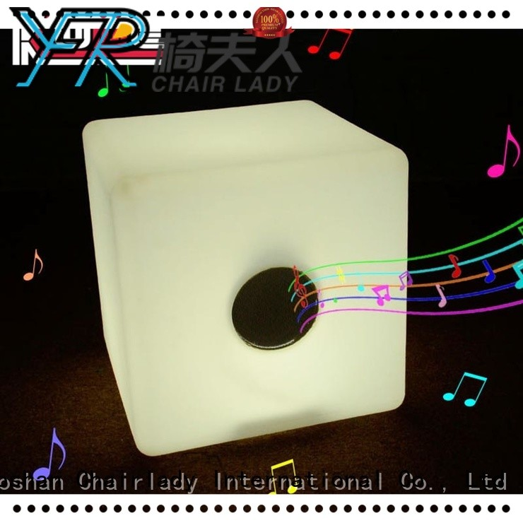 Chairlady illuminated LED Cube Bluetooth factory for bar