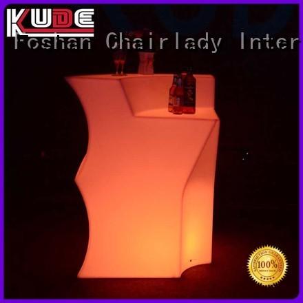 Chairlady illuminated illuminated led bar counter Supply