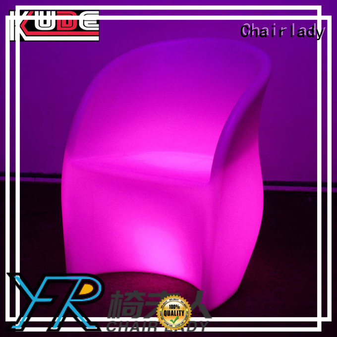 Chairlady Latest led Bar Chair factory