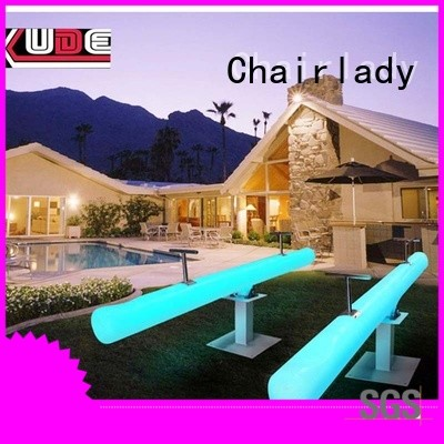 Chairlady bench led garden furniture Supply for bar