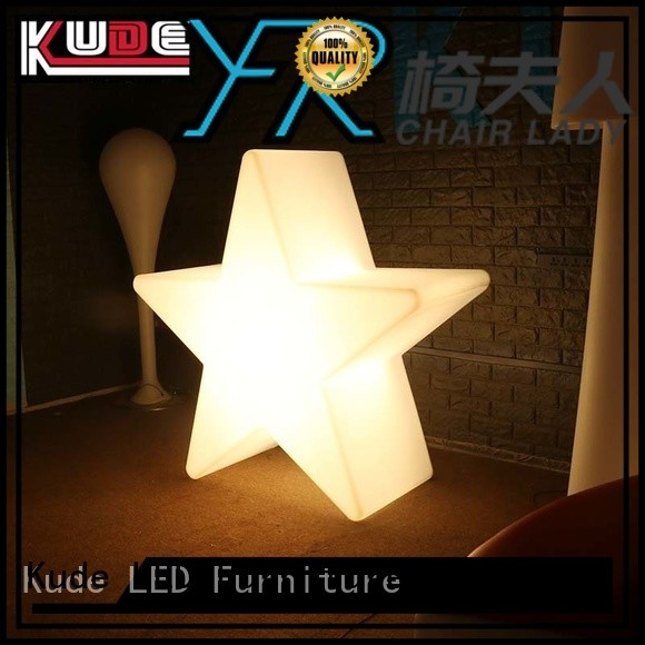 Chairlady plastic plastic led decorative lighting factory for bar