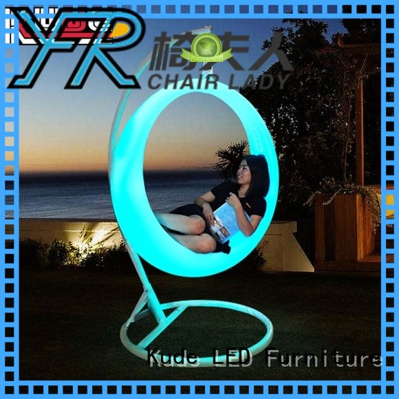 Chairlady Best led trash can for business for bar