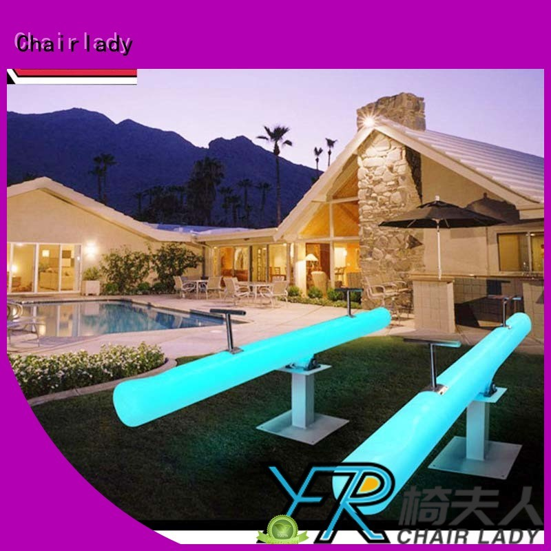 Chairlady color led garden furniture manufacturers for bar