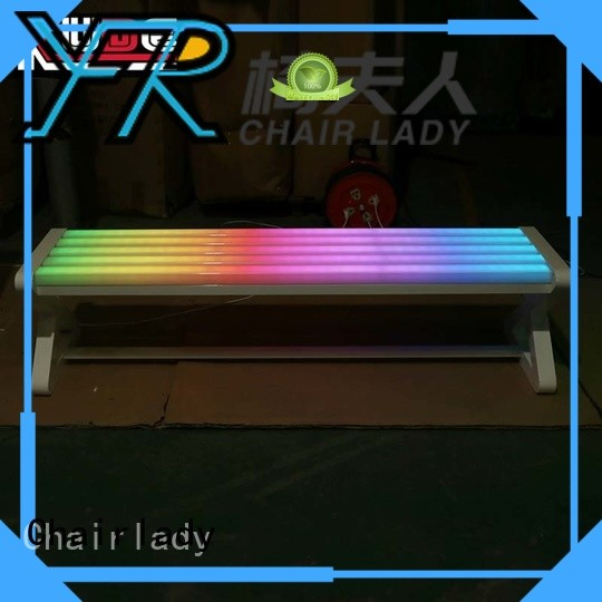 Chairlady illuminate led lighting seesaw factory for night club