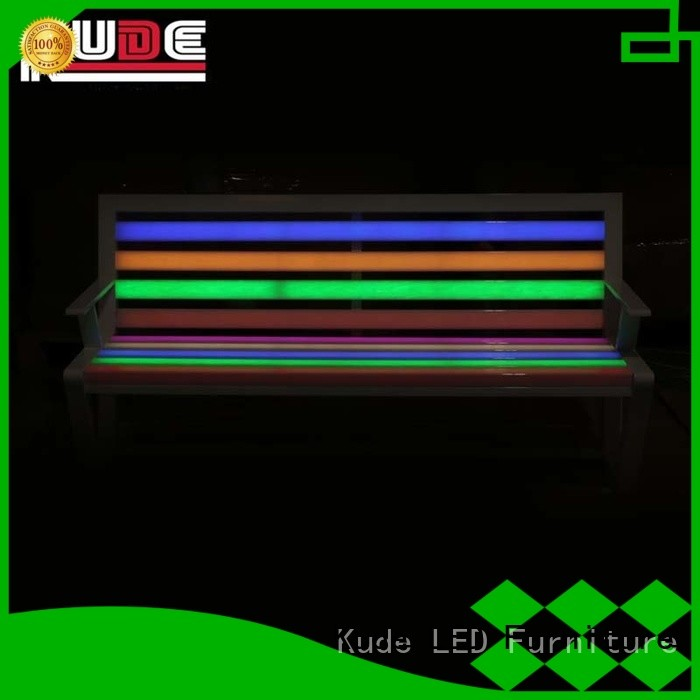 Chairlady color led garden chair for business for night club