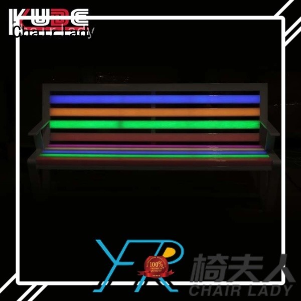 Chairlady Custom led swing factory for night club
