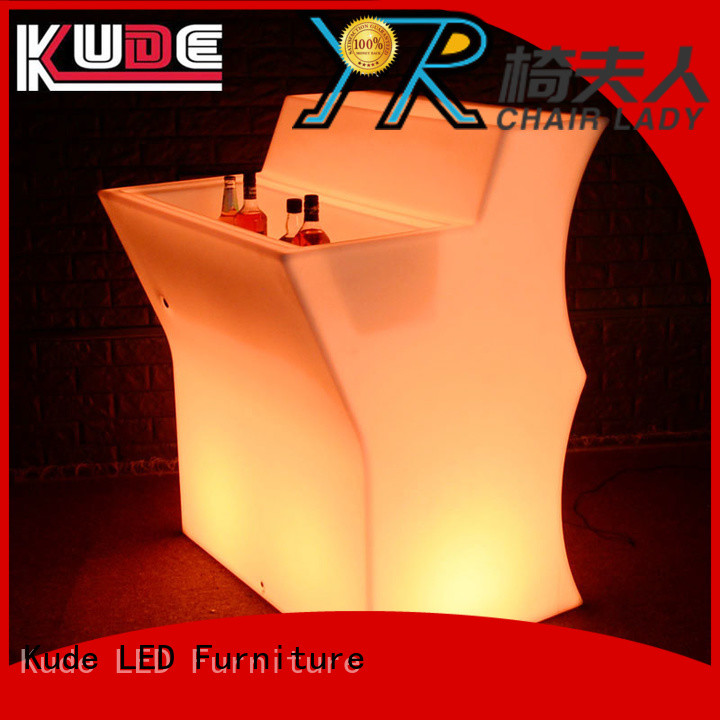 Chairlady Latest led lighting bar counter factory