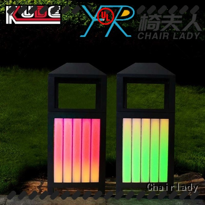 Chairlady High-quality led trash can manufacturers