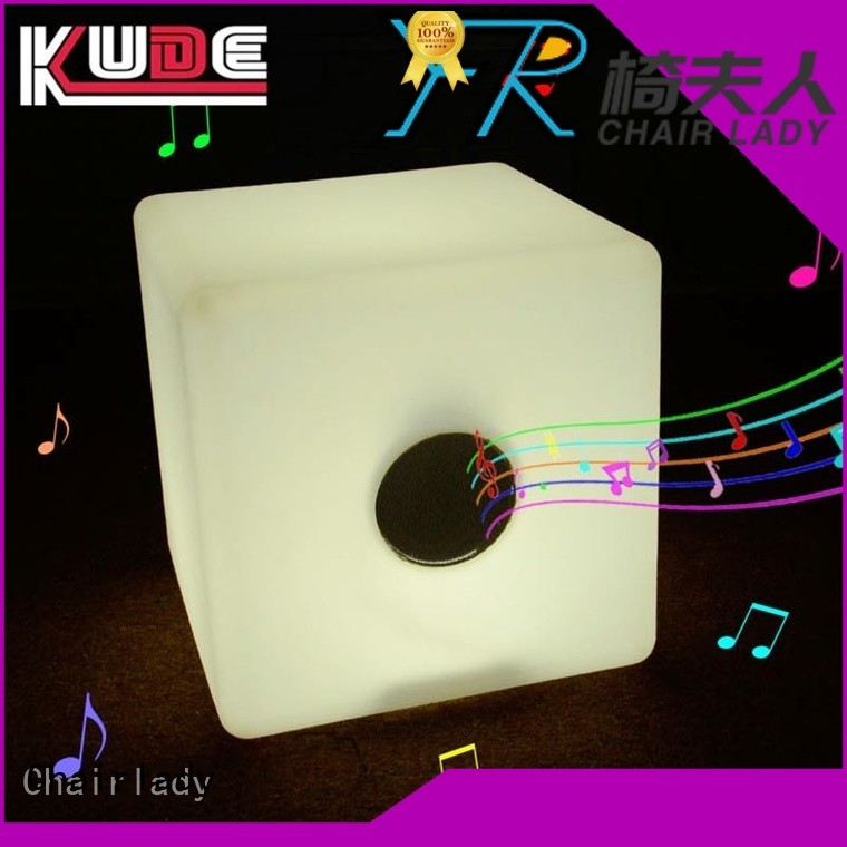 Chairlady Top LED Cube Bluetooth company for bar