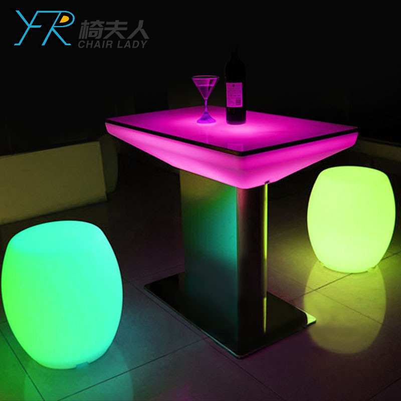 Rechargeable Color Changing LED Table YFR-F894T
