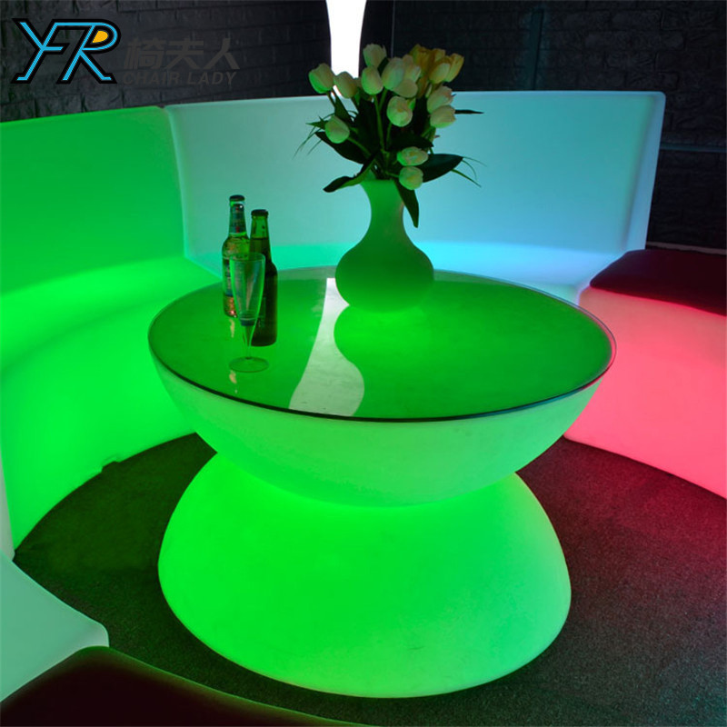 Rechargeable Color Changing LED Table YFR-F854T