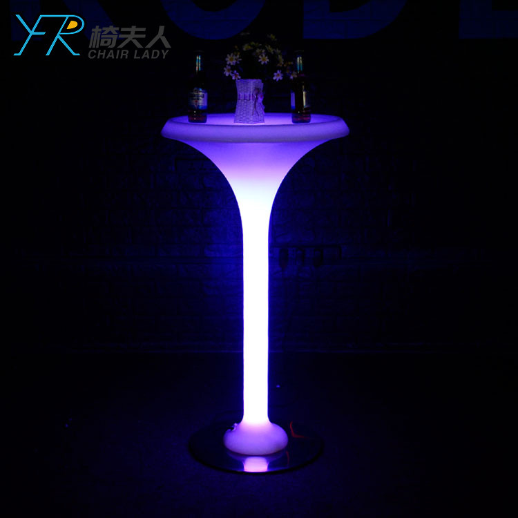 Rechargeable Color Changing Led Nail Bar table YFR-BS303