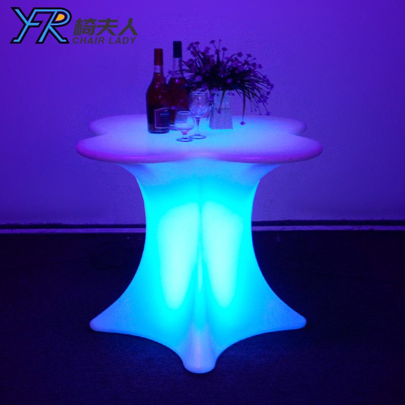 Outdoor LED Light Table with Remote Control