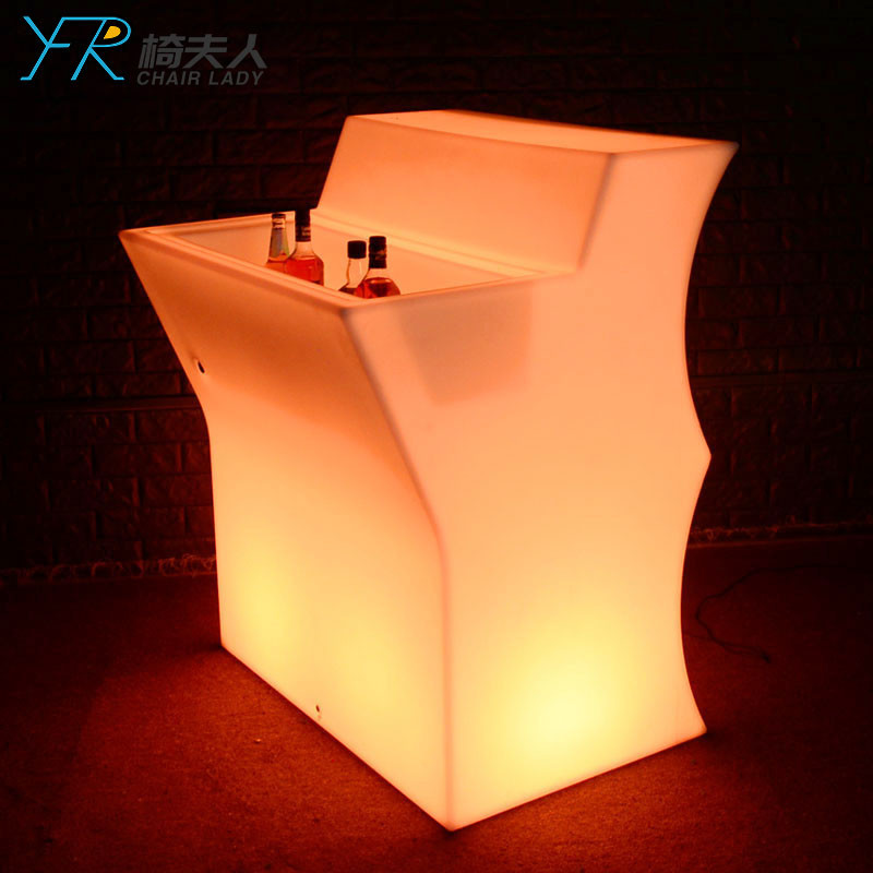 Plastic Led Bar Counter Deejay Booth Lighting