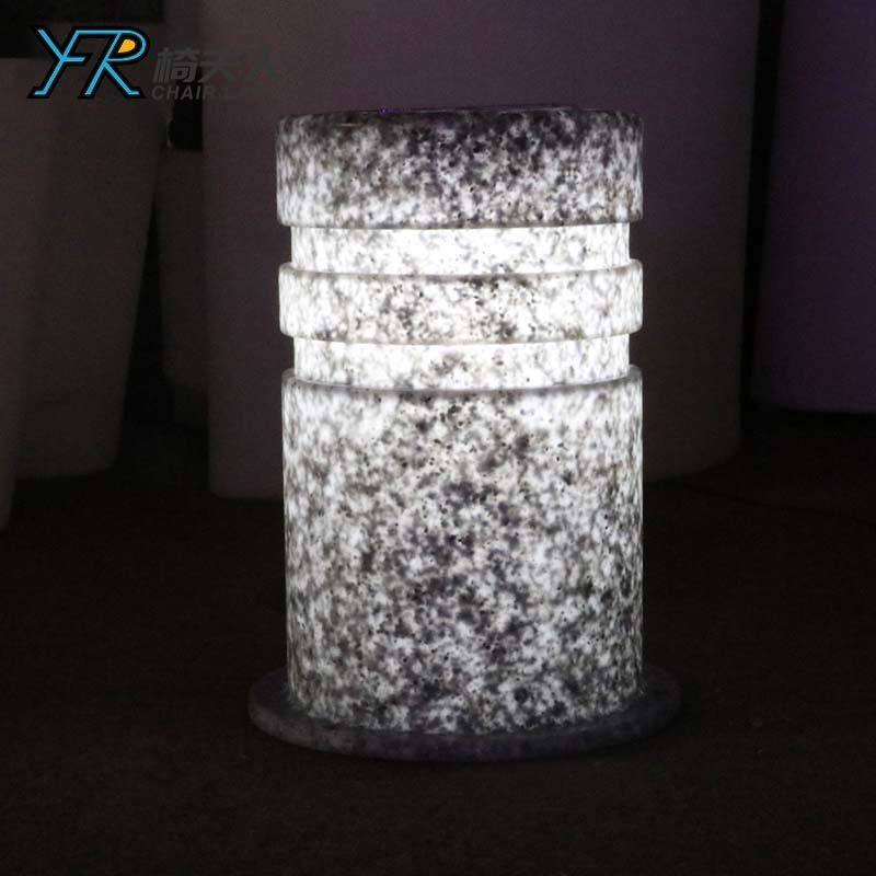 Solar LED Roadblock Pillar for Outdoor Garden Party