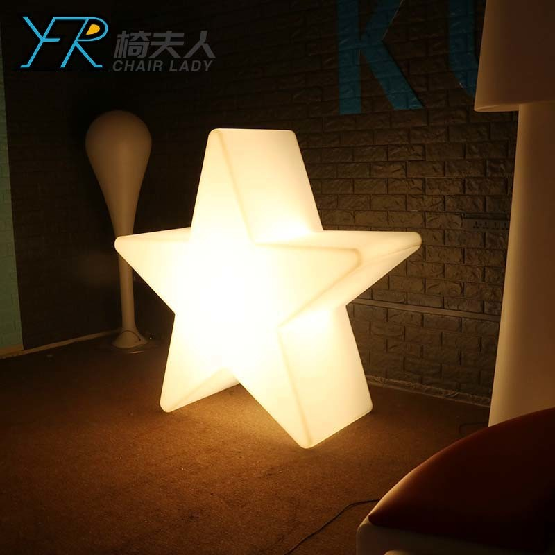 Plastic Star for Indoor and Outdoor Garden Party