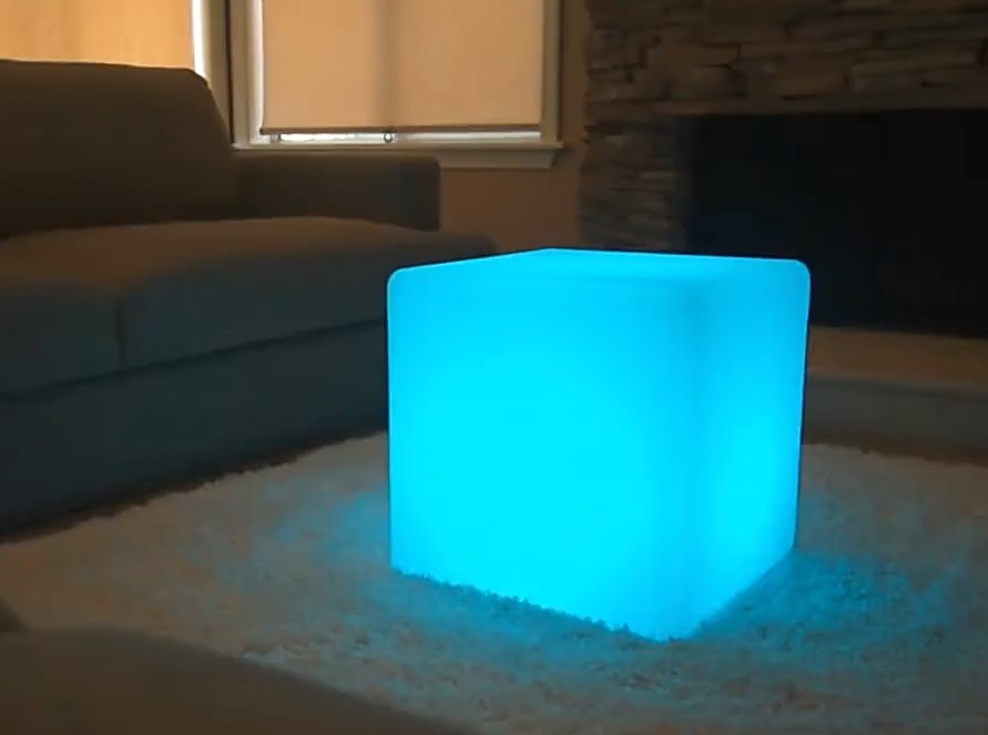 Waterproof LED cube